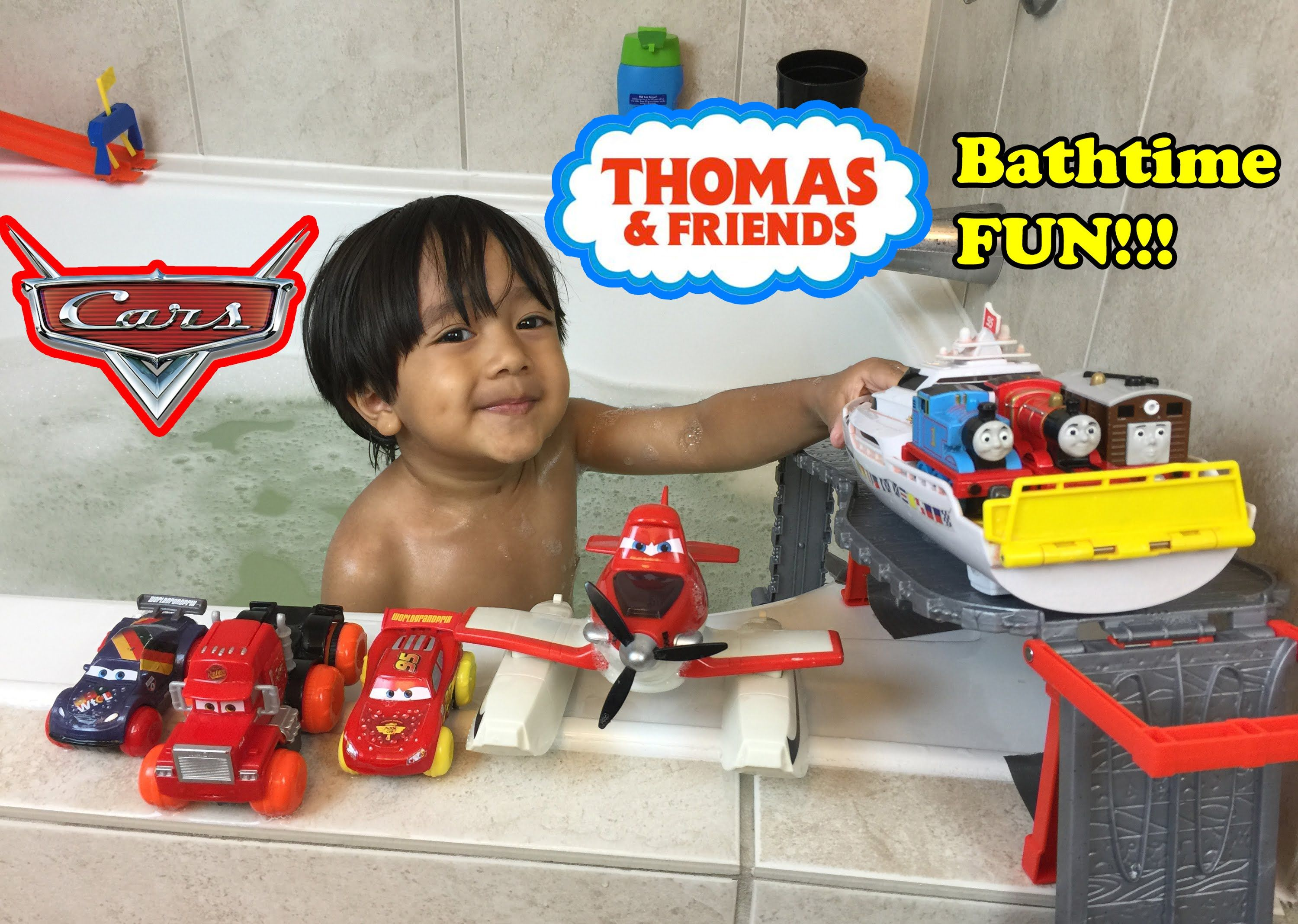 THOMAS AND FRIENDS BATHTIME FUN Accidents will happen with Disney ...