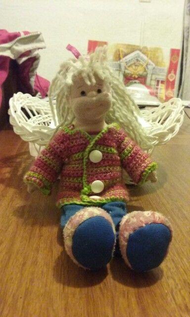Chaleco de muñeca Crochet