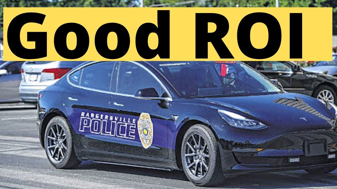 Tesla Model 3 Police Cars Pay For Themselves Faster Than Expected In 2020 Police Cars Tesla Model Police