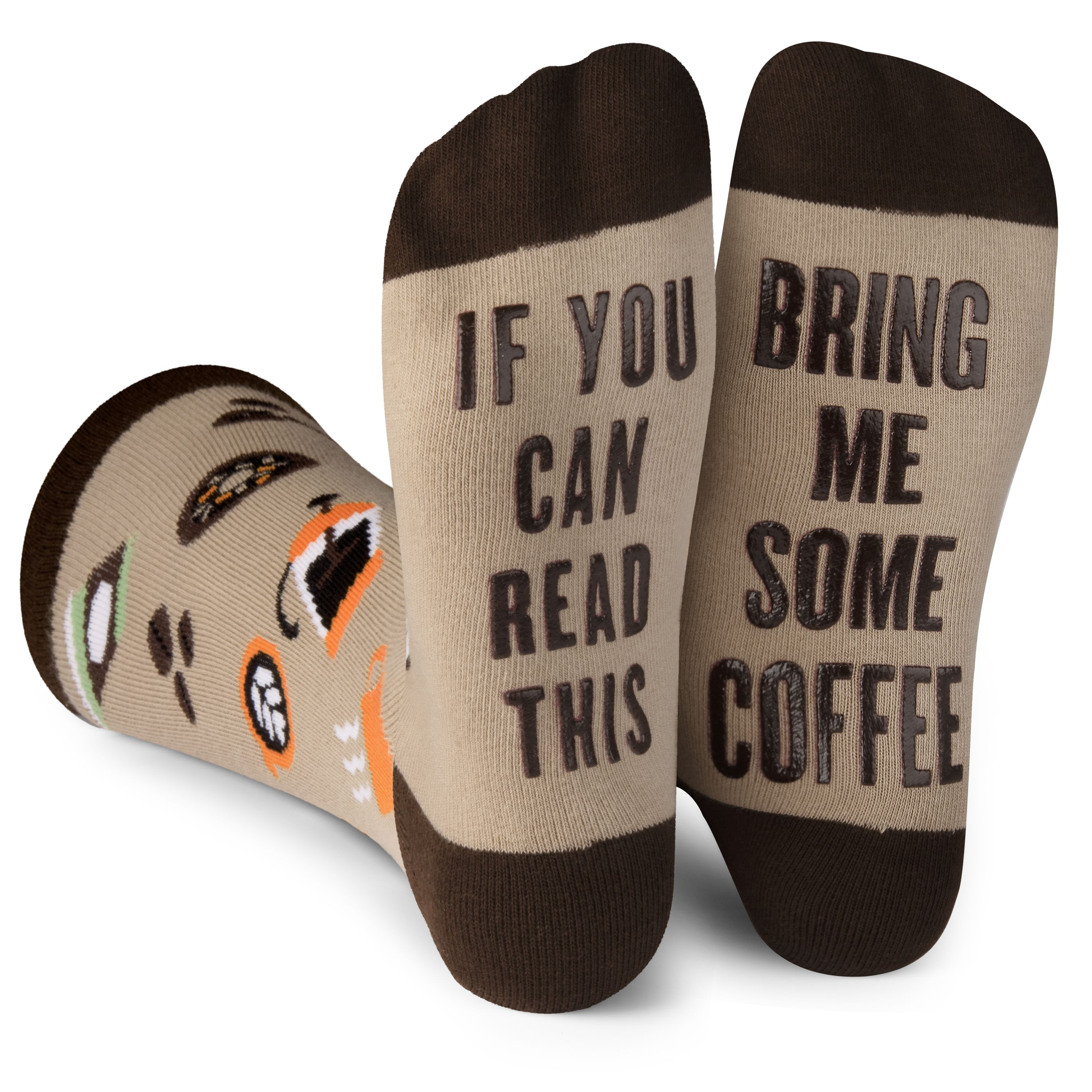 If You Can Read This Make Me A Brew Novelty Socks Birthday Mothers Day Gift