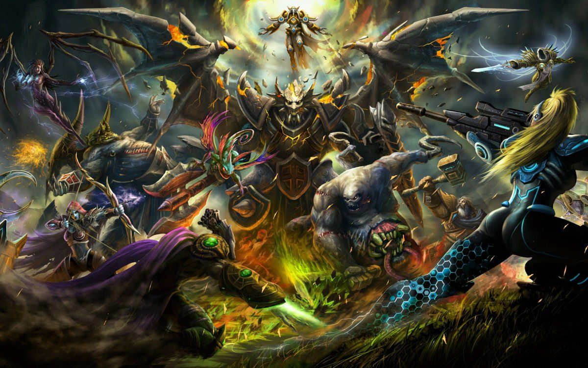 Hootsuite Heroes Of The Storm Hero Wallpaper Eye Of The Storm
