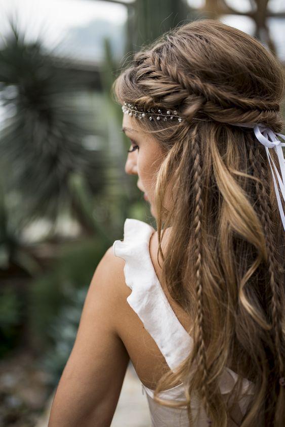 20 coiffures de mariée sublimes pour cheveux longs - ELLE.be