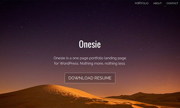 onesie-wordpress-theme - free | WEB DESIGN + DEVELOPMENT | Pinterest ...