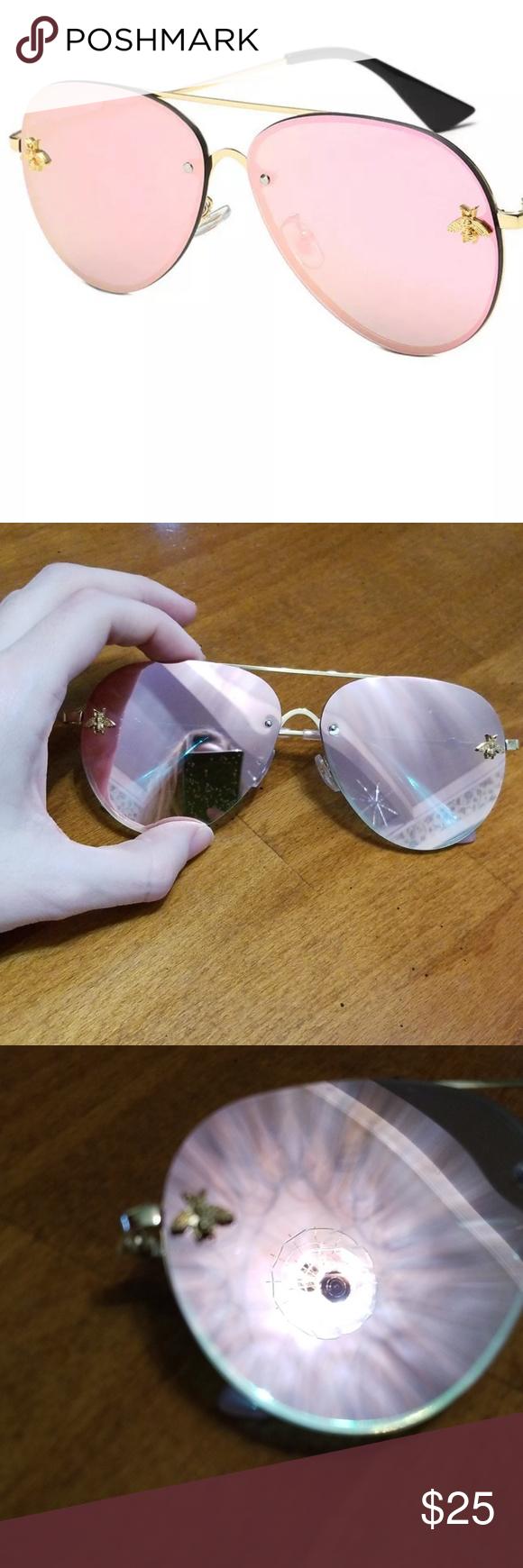 8214316522f14 🐝New  Golden Bee  Sunglasses 🐝 Brand new