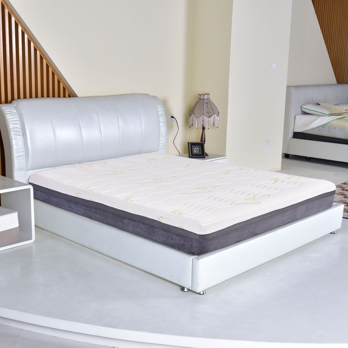 Queen Size 10 Bamboo Cover Memory Foam Mattress With Images