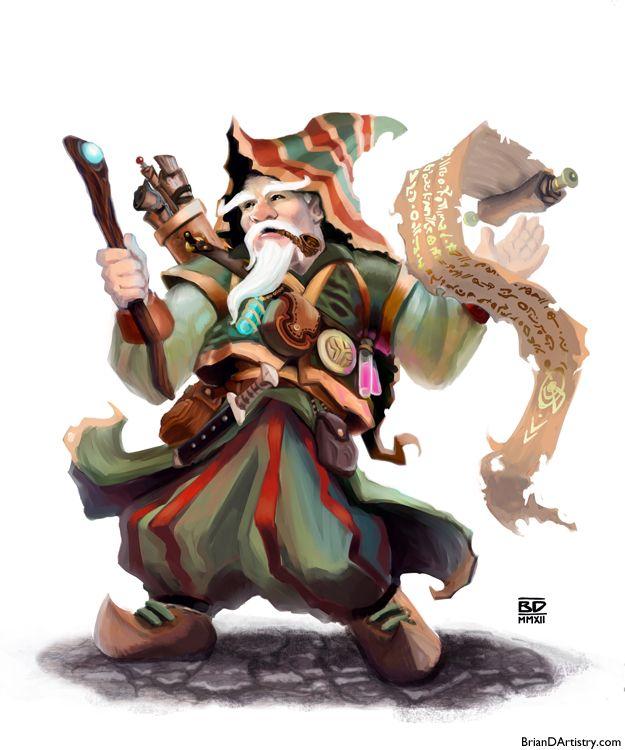Gnome Wizard by geministranger.deviantart.com on @DeviantArt