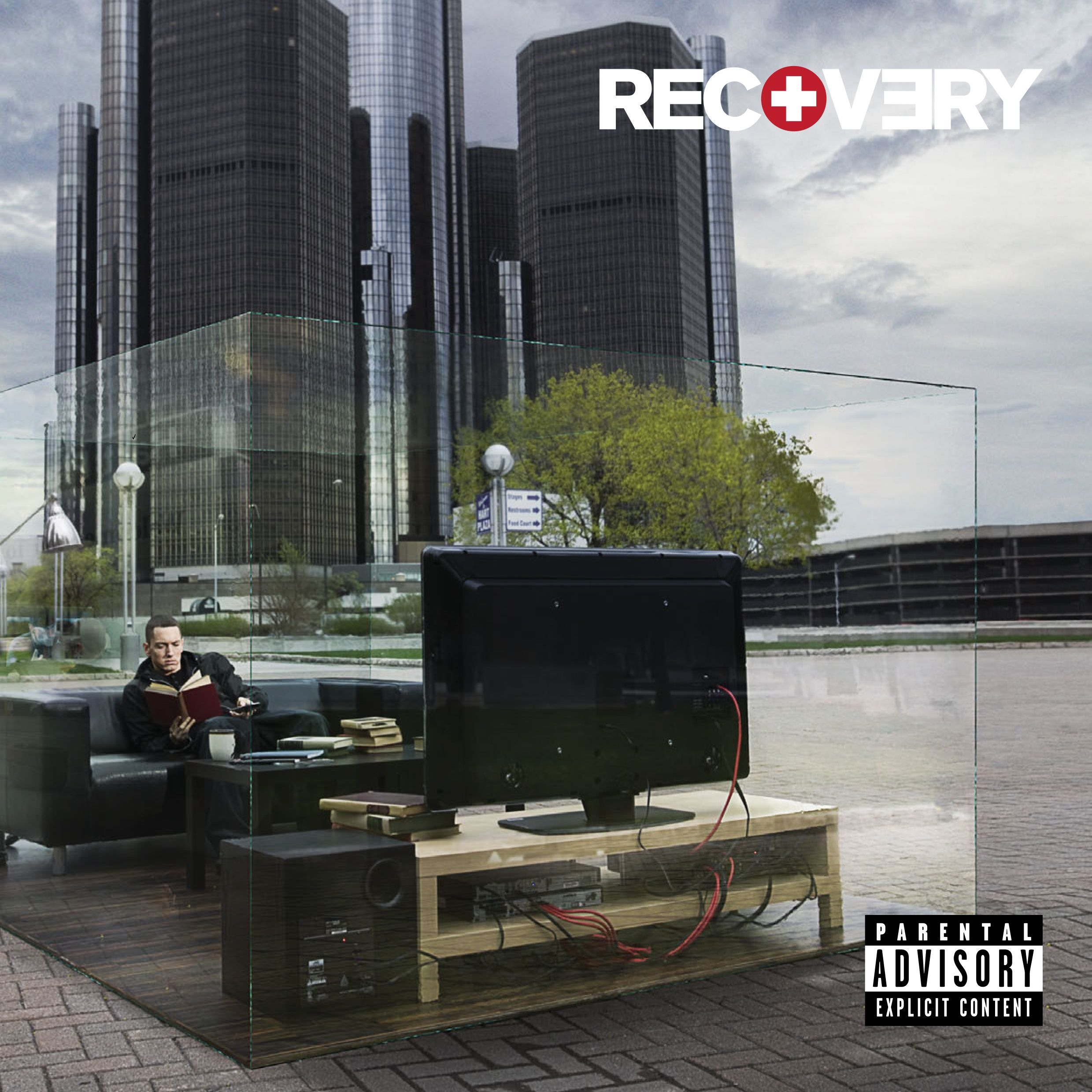 Recovery (Deluxe Edition), Eminem, 2010; photographed by ...
