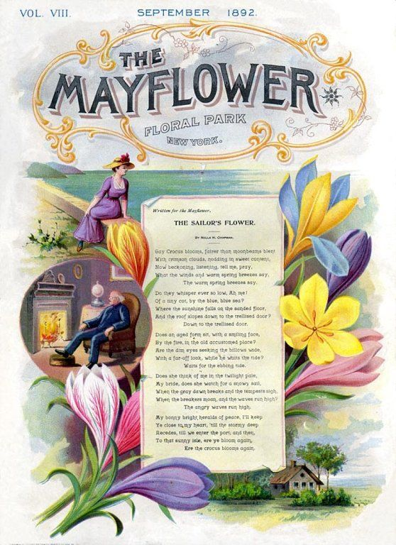 The Mayflower 1892 | Vintage - Seed Catalogs, Almanac & Seed Packets ...