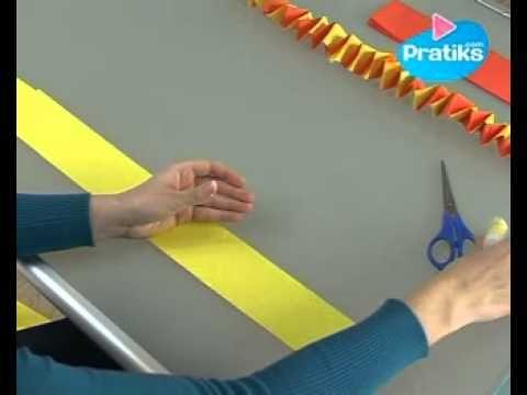 comment faire une guirlande en papier ecole carnaval pinterest. Black Bedroom Furniture Sets. Home Design Ideas