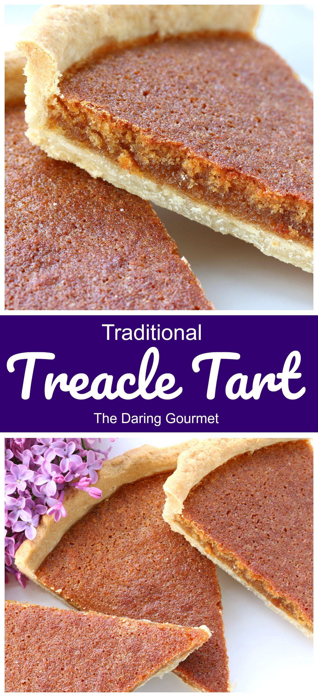 Traditional Treacle Tart Recipe British Desserts Treacle Tart Tart Recipes
