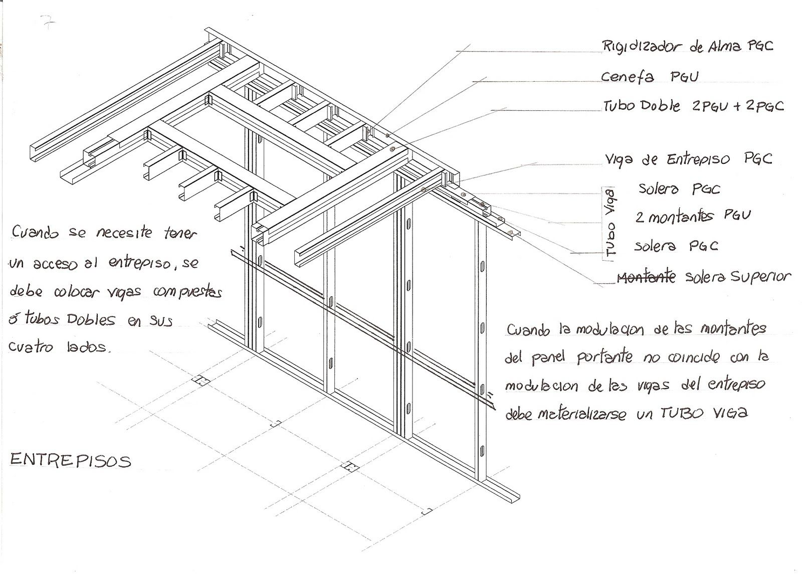 CONSTRUCTION: FLATS - mezzanines - STAIRS | steel framing | Pinterest