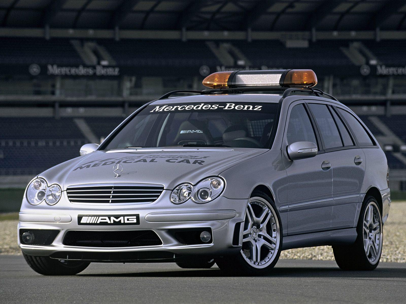 Amg mercedes benz c 55 estate f1 medical car
