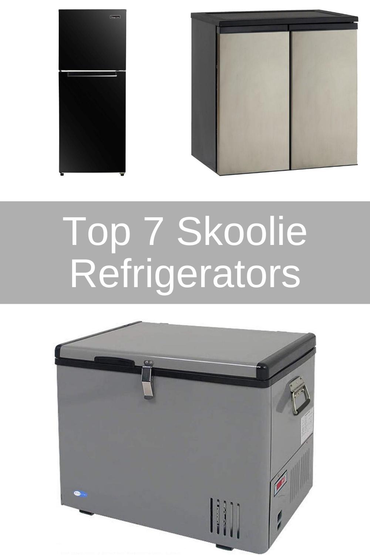 7 Best Skoolie Fridge Freezer Options For School Bus Conversions In 2020 Skoolie Outdoor Refrigerator School Bus Conversion
