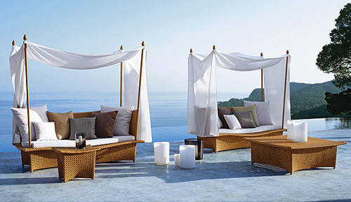 Daydream Daybeds, Cocktail and Side Tables - Richard Frinier for Dedon