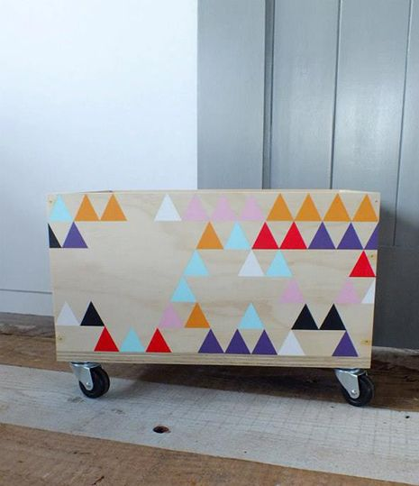room for kids : love triangles by baby space interiors, via Flickr