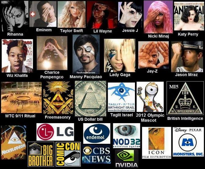 Illuminati Symbolism In Music And Sports Are You Paying Attention