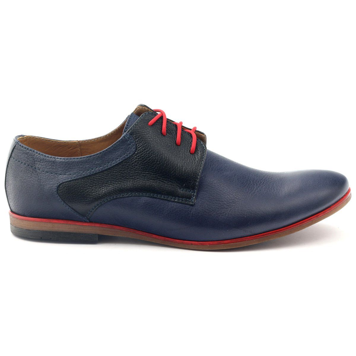 Polbuty Meskie Moskala H 5 Granatowe Czarne Czerwone Mens Casual Shoes Shoes Mens Shoes
