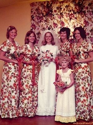 The ugliest bridesmaid dresses ever bad wedding dresses wedding the ugliest bridesmaid dresses ever junglespirit Gallery