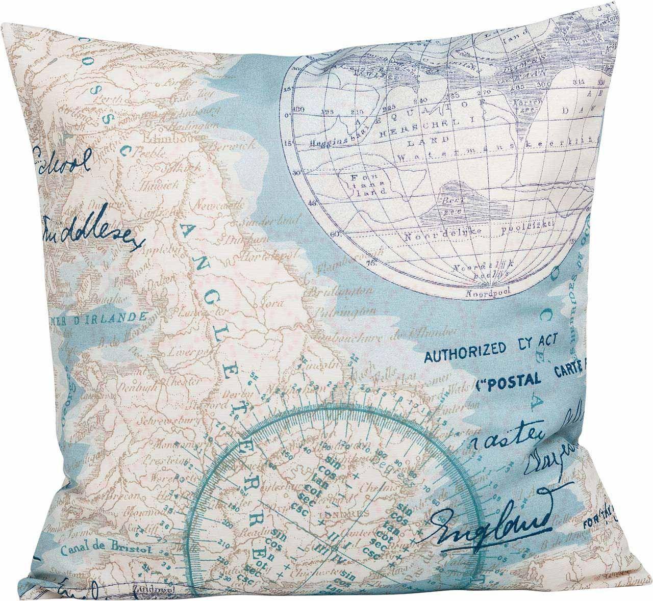 Dieses Kissen Holt Die Welt Nach Hause Wo Geht Der Nachste Urlaub