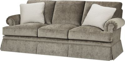 An Updated Lawson Arm Sofa. Loose Back And Seat. Bold Lawson Style Arms With