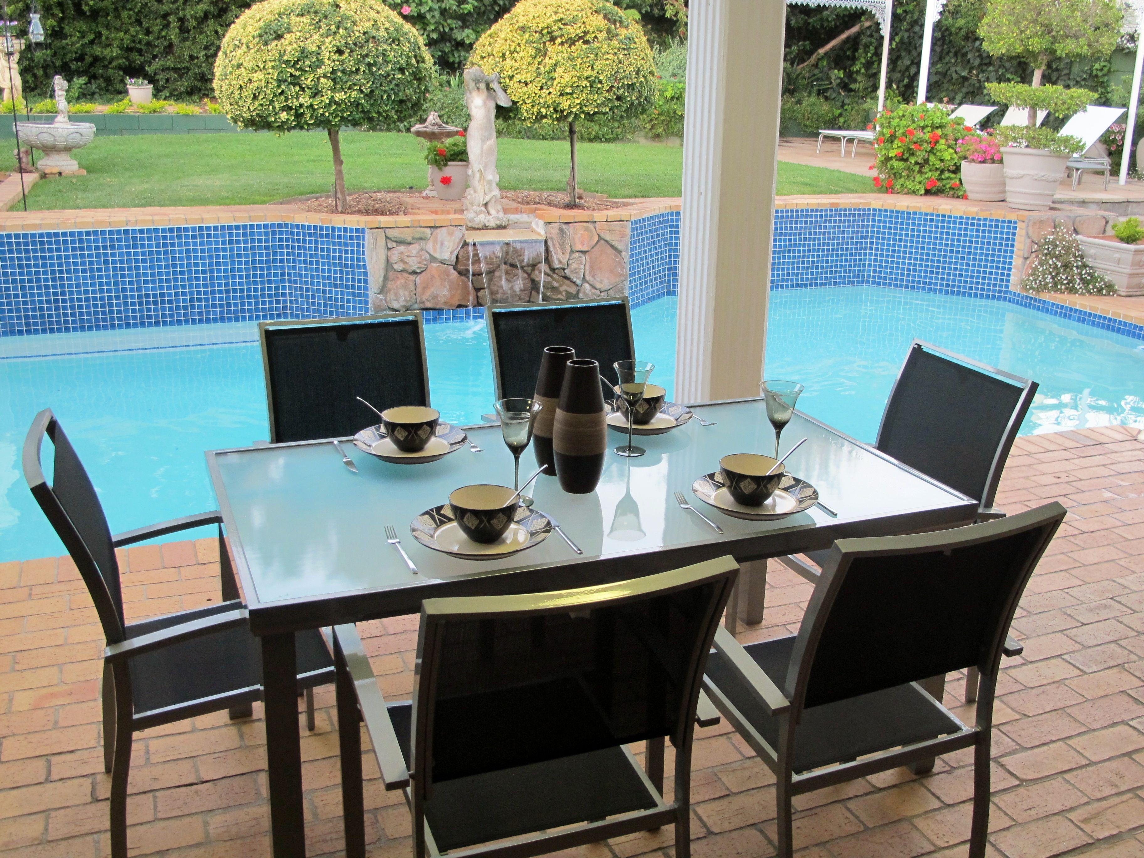 Tendo Outdoor 6 Seater Dining Set. | Outdoor Living & Creative ...