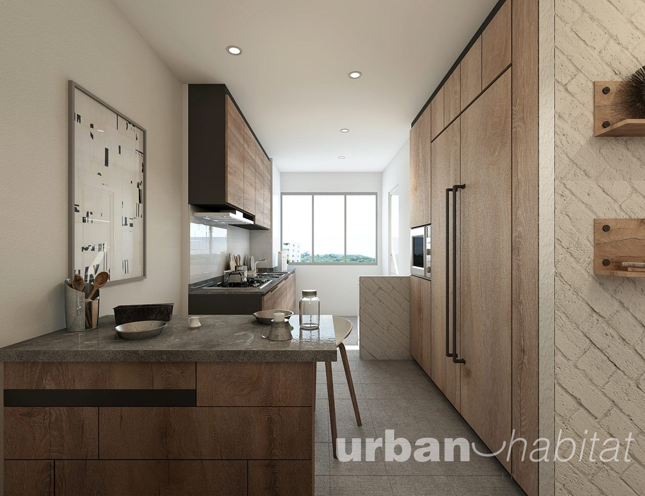 HDB 3-Room Resale Modern Eclectic @ Serangoon North - Interior ...