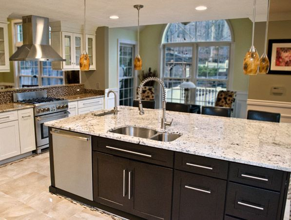 CliqStudios Painted Linen kitchen cabinets in the Dayton ...