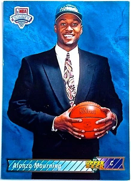 Alonzo Mourning Hornets 1999 Upper Deck Rookie Card