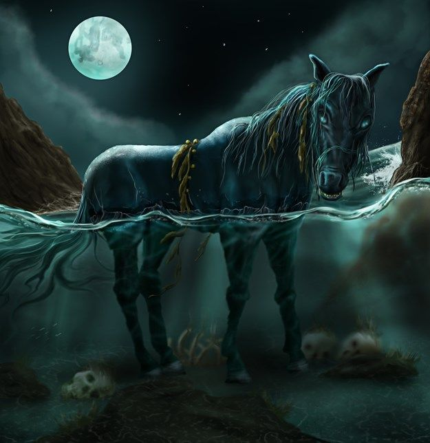 kelpie horse - Google Search | Faeries and other Mythical ...