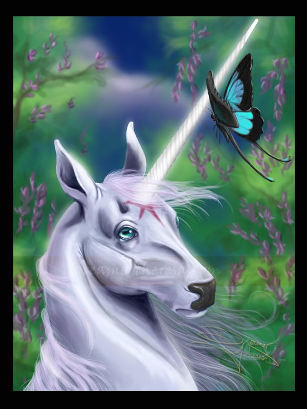 The Last Unicorn By Dreamertheresa On Deviantart Last Unicorn