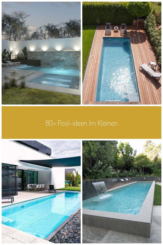 80 Pool Ideen Im Kleinen Hinterhof Backyard Hinterhof Im Kleinen Poolideen Pool Im Garten Swimming Pools Backyard Backyard Pool Pool