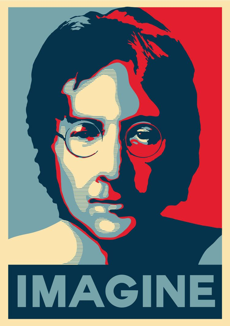 obama style hope poster in adobe illustrator by tastytuts design