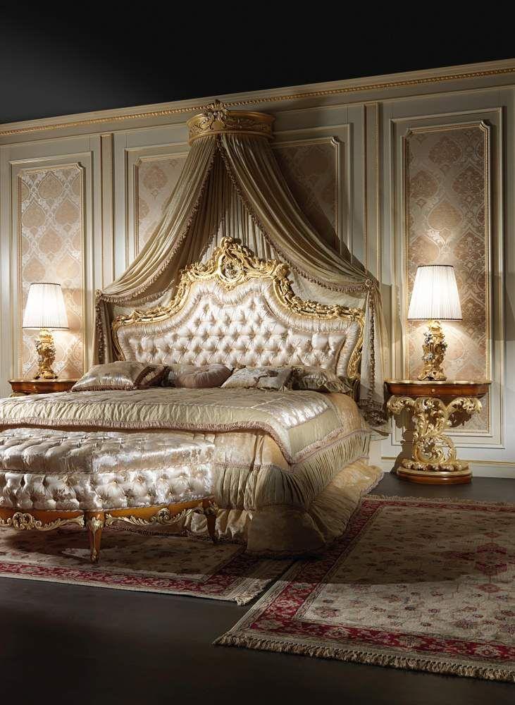 Astounding Elegant Baroque Bed Room Interior Baroque Bedroom Home Interior And Landscaping Eliaenasavecom
