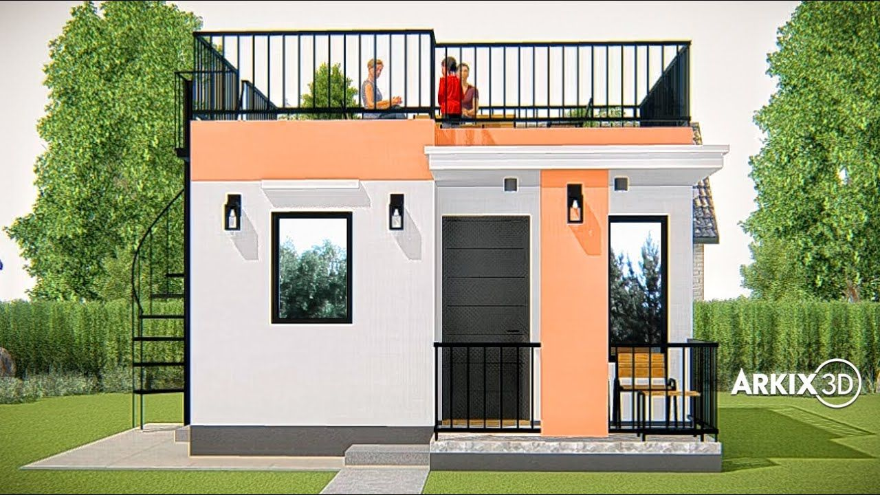 Pin By Suza Eric On House Plans Roof Deck Small House Design House Floor Plans
