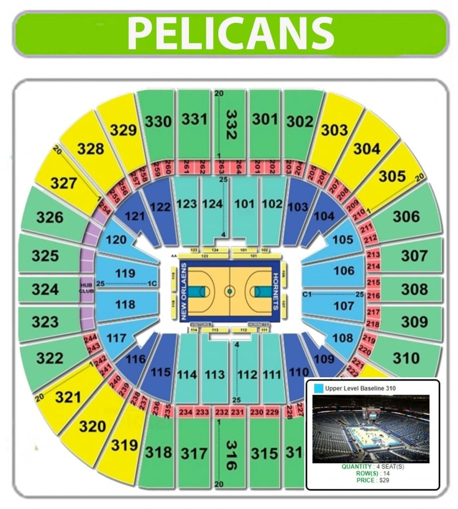 New Orleans Pelicans Seating Chart Smoothie King Center Regarding Pelicans Seating Chart Mbpelicansseatingchart Pelicansgameseating New Orleans Pelicans Smoothie King Smoothie King Center
