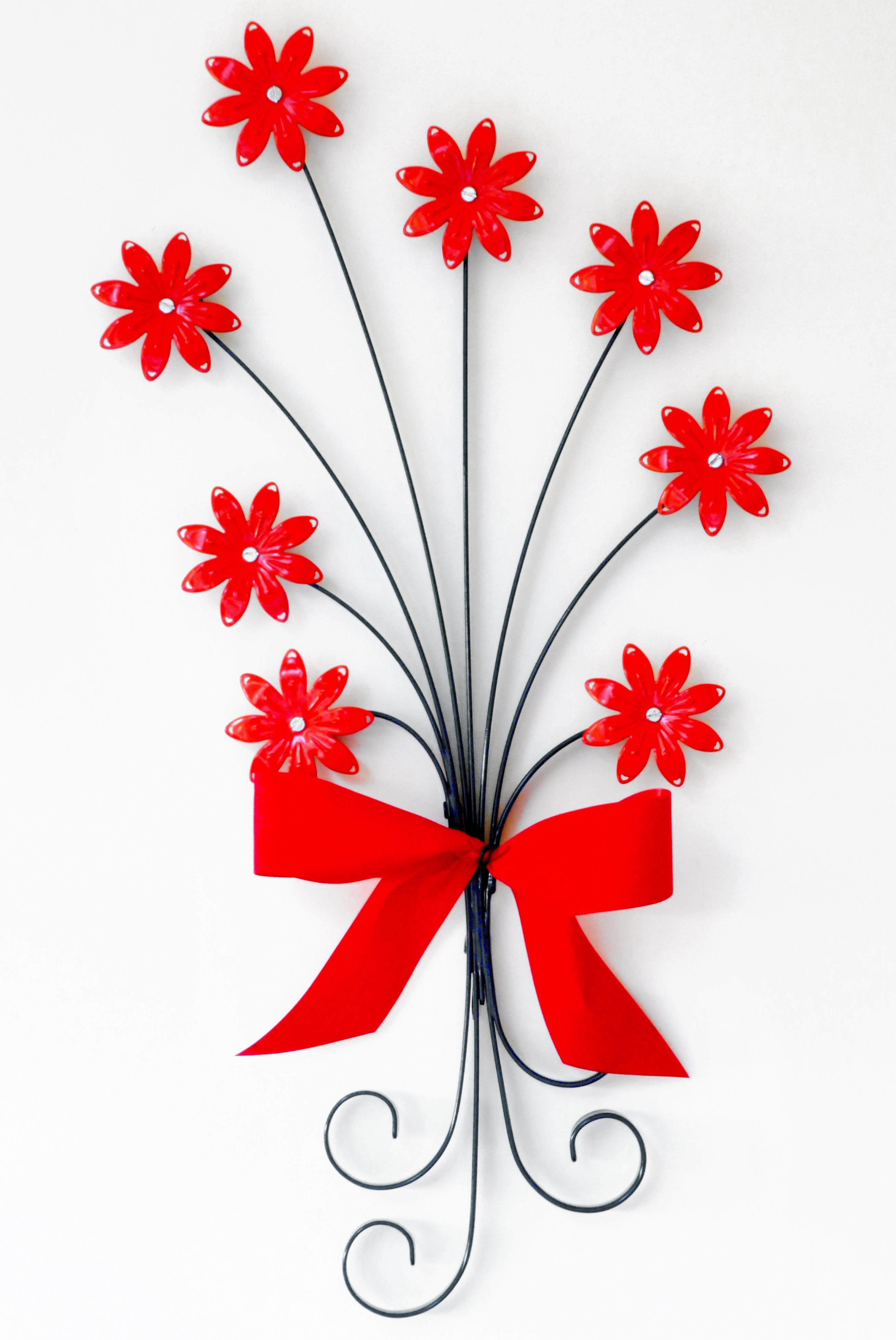 Bright and bold #Metalcraft wall piece to hang proudly in your ...