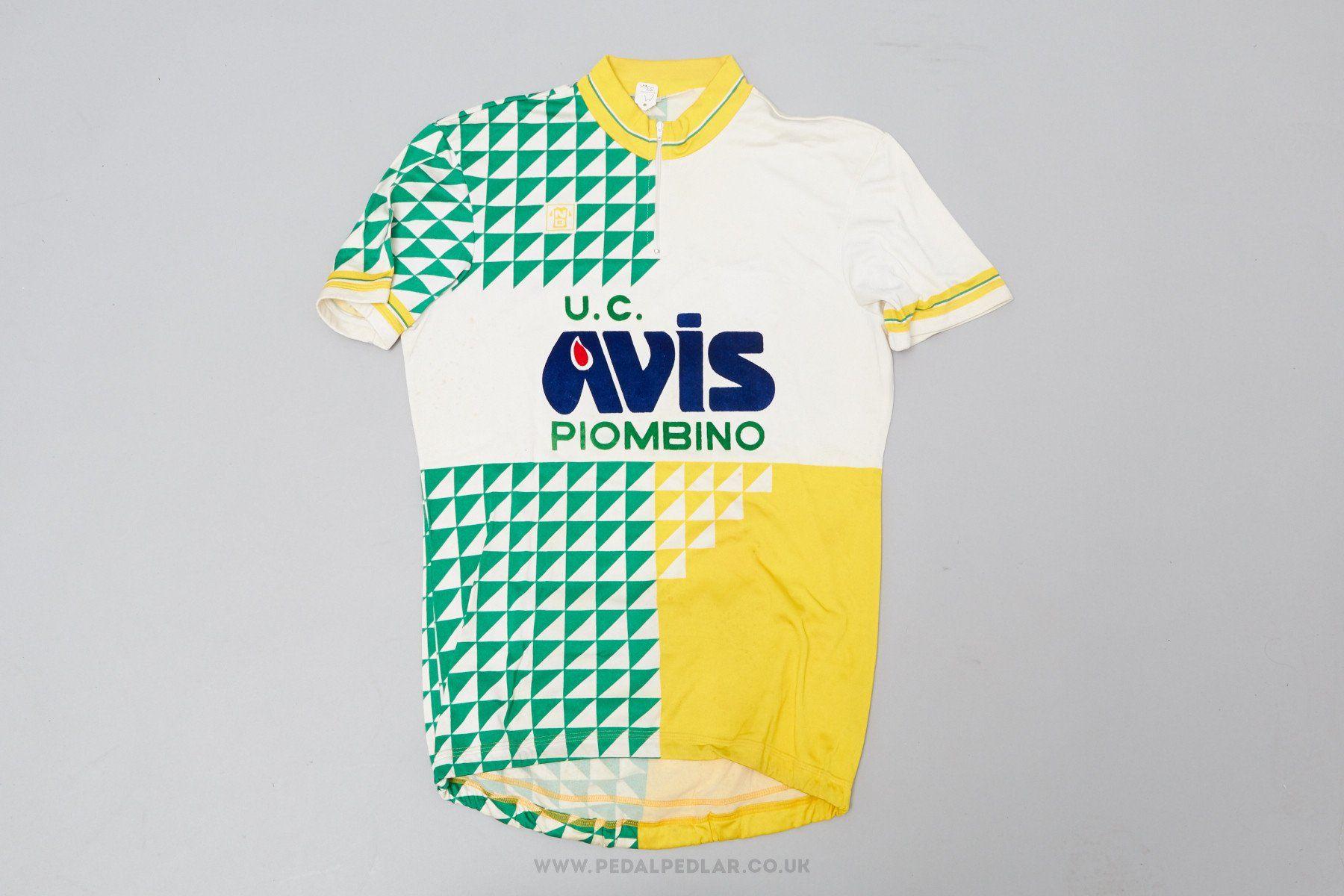 2d7b96c9b U.C. Avis Piombino - Vintage Cycling Jersey - Pedal Pedlar
