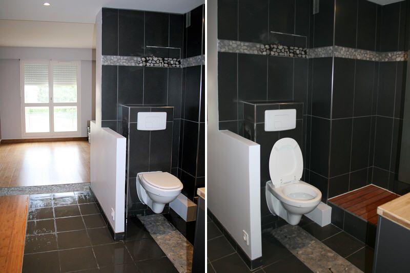 Grande chambre de type suite parentale avec salle de bain et WC intégrée -  Ravine des Cabris
