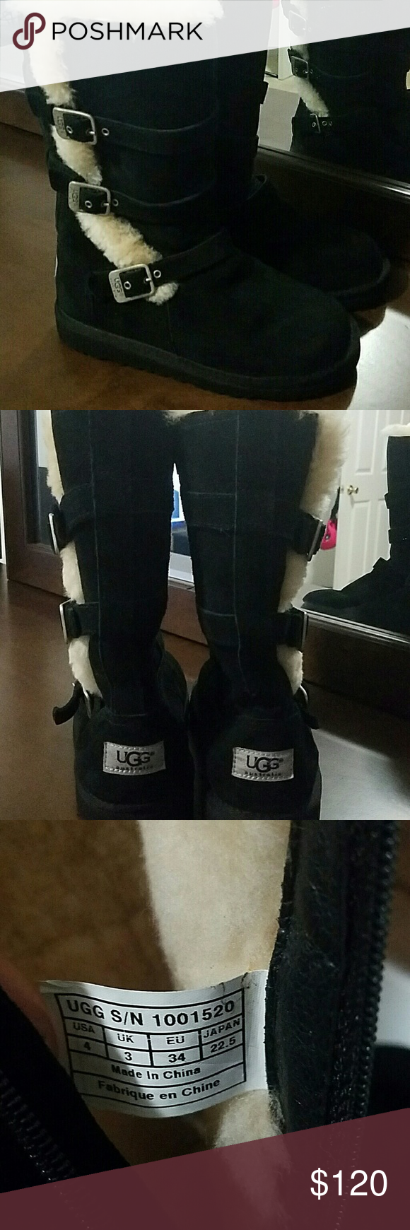 Girl UGG boots Never worn Black UGG boots... my daughter begged me for these boots and I got them but she never wore them so I'm selling them.. UGG Shoes Winter & Rain Boots #uggbootsoutfitblackgirl Girl UGG boots Never worn Black UGG boots... my daughter begged me for these boots and I got them but she never wore them so I'm selling them.. UGG Shoes Winter & Rain Boots #uggbootsoutfitblackgirl
