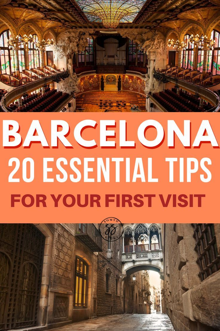 If you're planning your first tip to Barcelona be sure you know what to do and what NOT to do. Check out this post for 20 essential tips for your first visit to Barcelona. #spain
