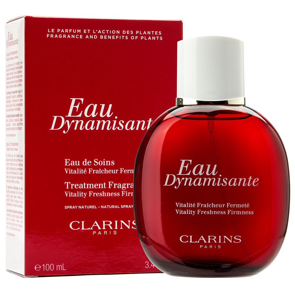 Clarins Eau Dynamisante Vitality Freshness Firmness Wow The Body Treatment Oil Tonic 30ml First Fragrance And In One Spa Fresh Formula This Invigorating Aroma