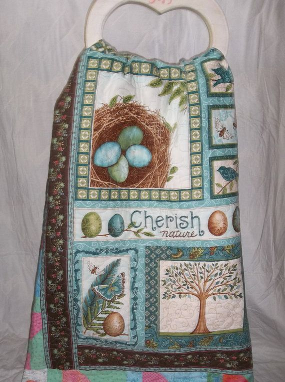 Patchwork Twin-size QuiltCherish Nature by mkhquilts on Etsy