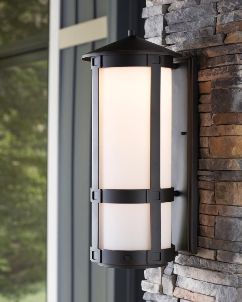 Outdoor Lighting Ideas And Options: With The Conical Rooftop, Simple Lines Of Its Aluminum