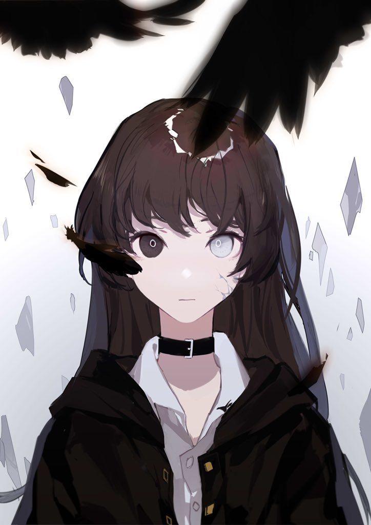Hoodie Pfp Anime Girl Black Anime Characters Aesthetic ...