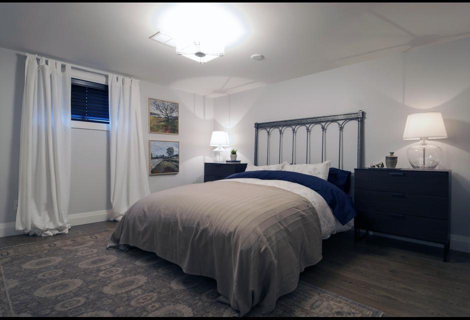 Photo of Modernes Keller-Suite-Makeover mit zwei Schlafzimmern