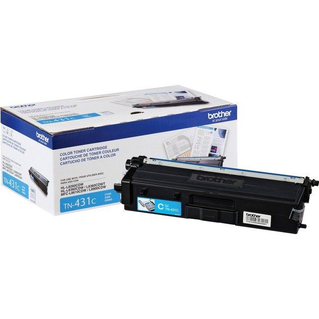 Brother Tn431c Original Toner Cartridge Cyan Blue Brother