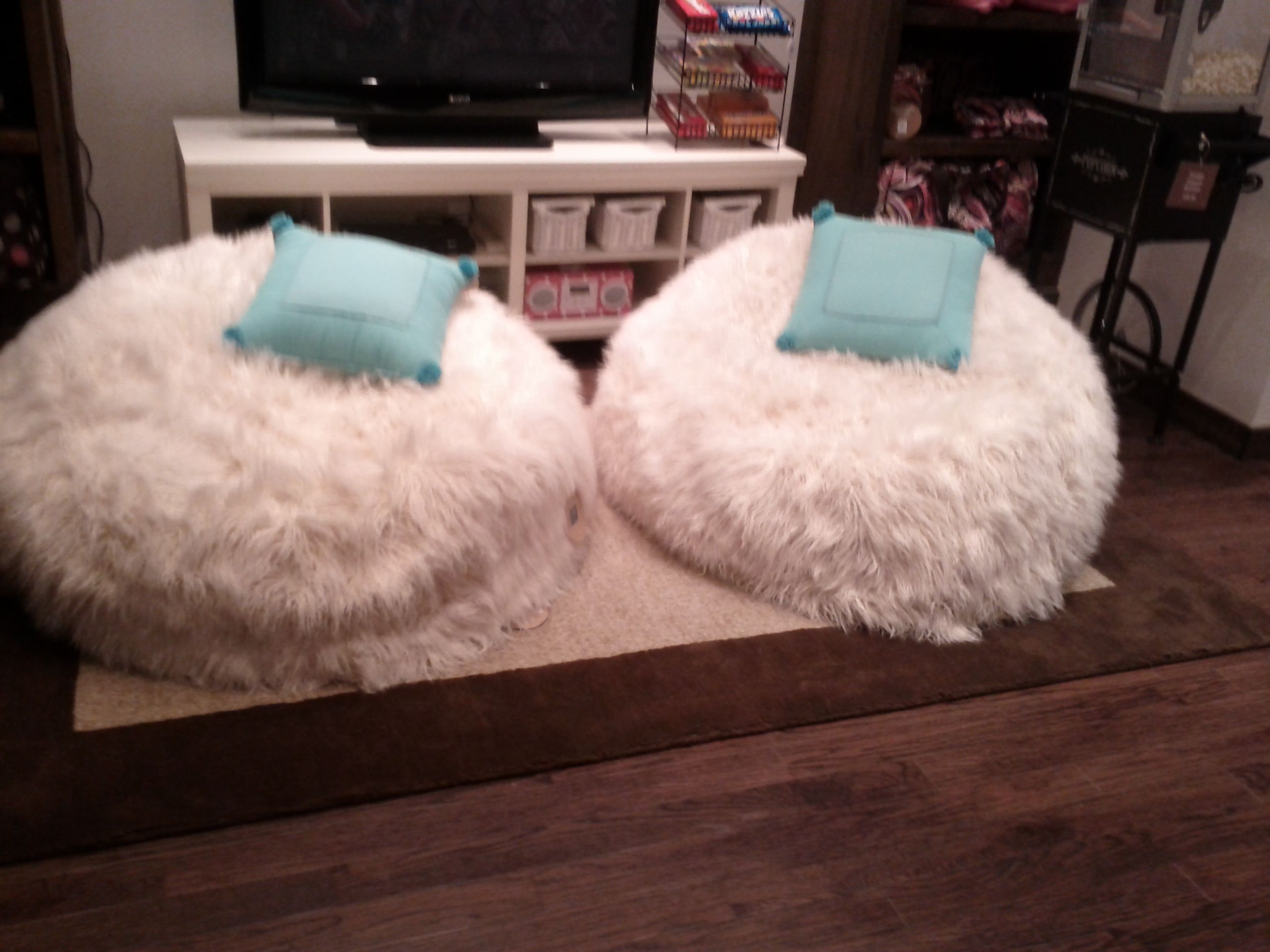 Furry Bean Bag Cover