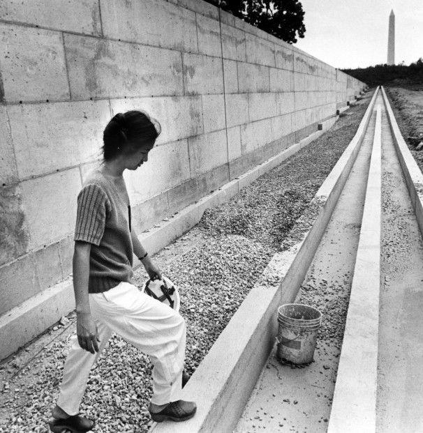 Vietnam Veteran's Memorial and Maya Ying Lin, designer and ...