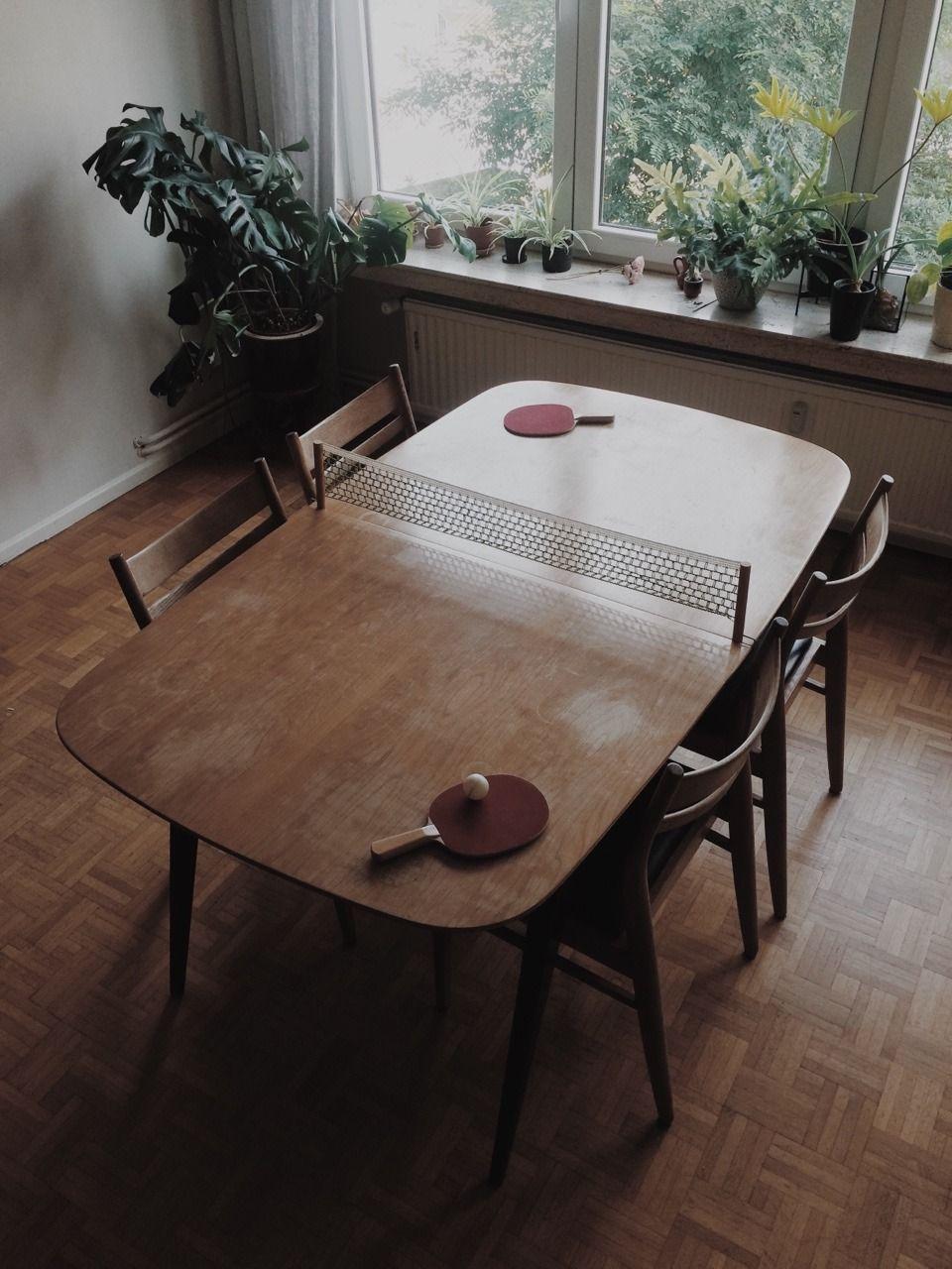 Table Tennis Room Design: Eenufframeteenpitslichteke: Table