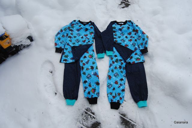 Children´s jersey pyjamas